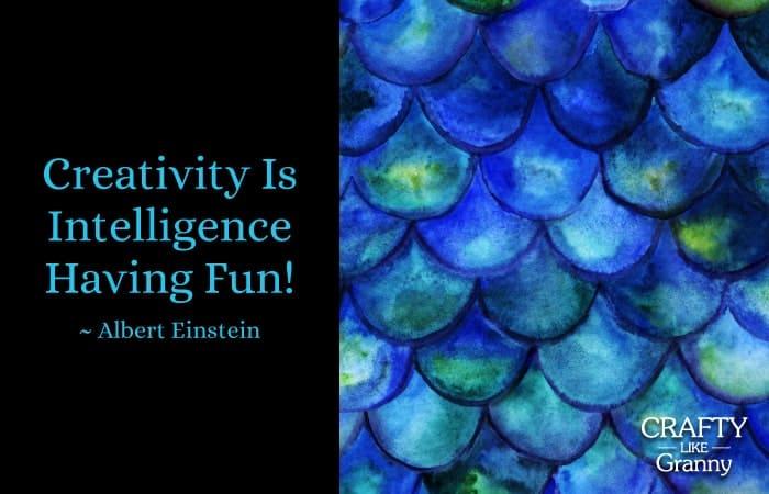 Creativity-is-intelligence-having-fun-Mermaid-Crafts