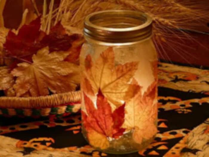 Fall-Leaf-Candle-by-Creative-Party-Ideas