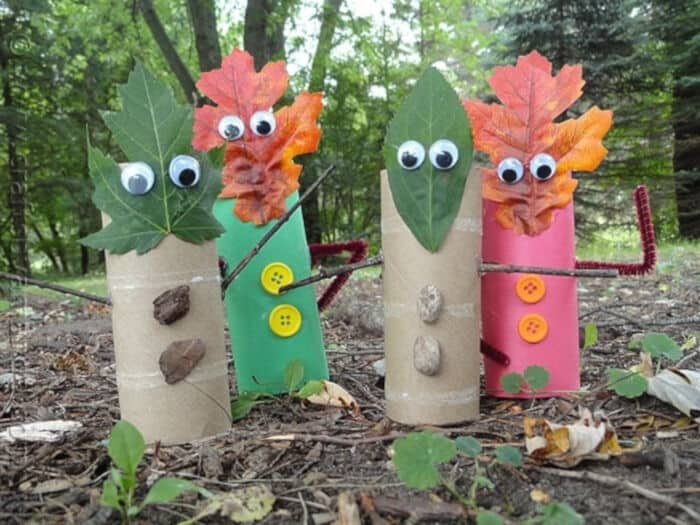 Fall-Leaf-Finger-Puppets-by-Crafts-by-Amanda