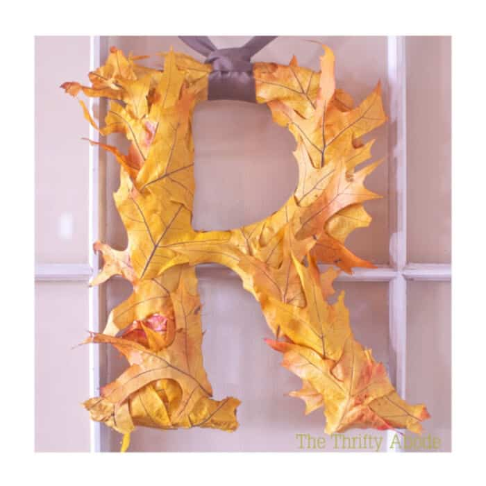 Fall-Leaf-Initial-by-The-Thrifty-Abode