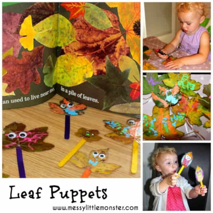 Leaf-Puppets-by-Messy-Little-Monster