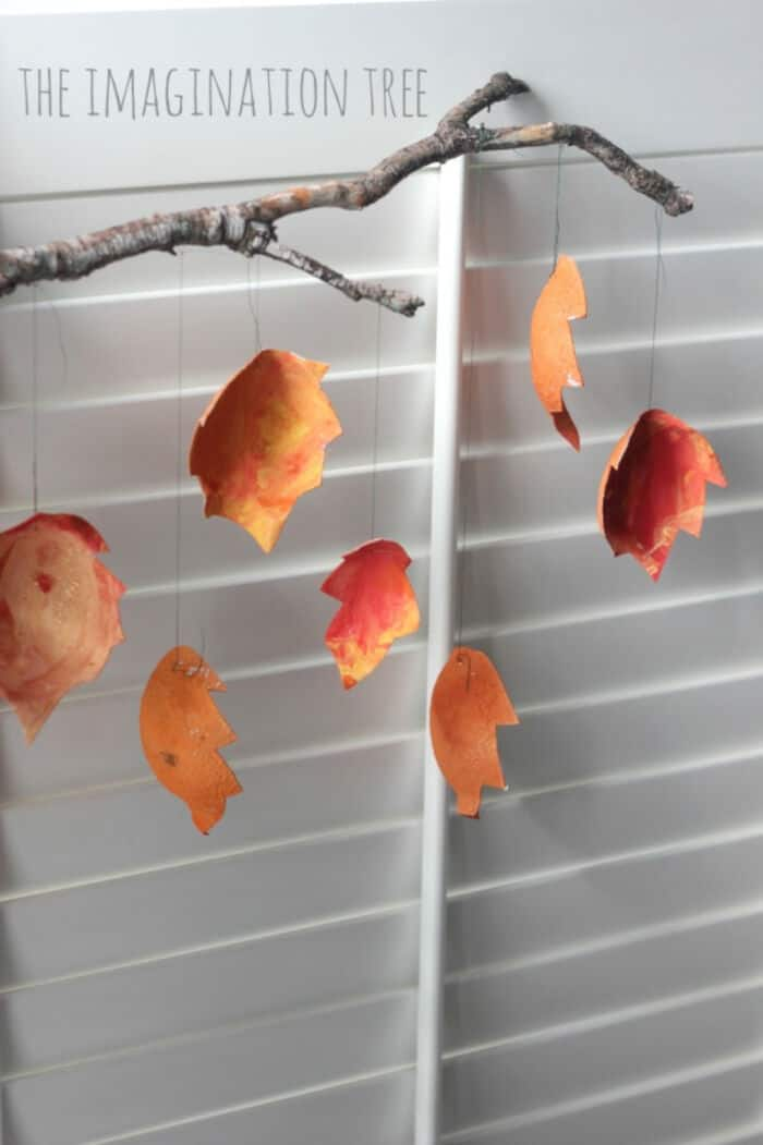 Recycled-Autumn-Leaf-Mobile-by-The-Imagination-Tree