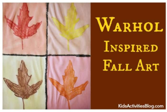Warhol-Inspired-Leaves-by-Kids-Activities